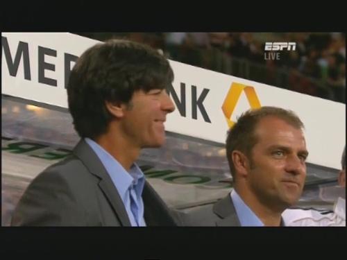 Joachim Löw & Hansi Flick – Germany v Brazil 4