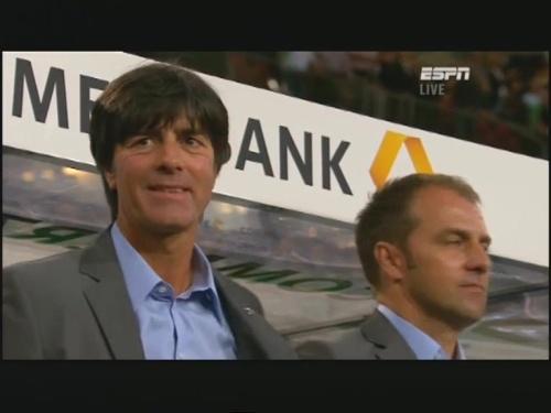 Joachim Löw & Hansi Flick – Germany v Brazil 6