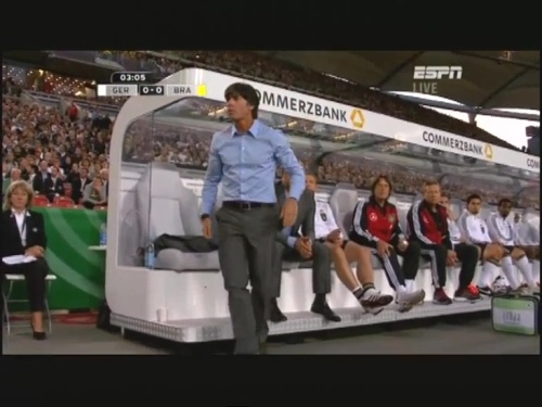 Joachim Löw & Hansi Flick – Germany v Brazil 8