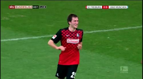 Jonas Föhrenbach – SC Freiburg v 1860 München 1