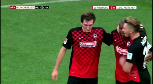 Jonas Föhrenbach – SC Freiburg v 1860 München 3