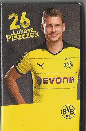 Lukas Pisczezk - Dortmund advent calendar