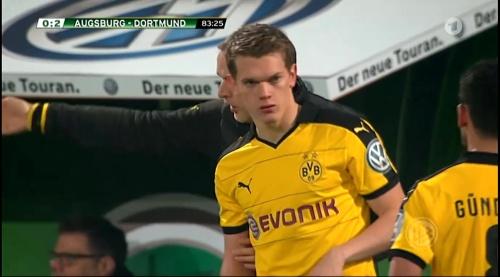 Matthias Ginter - Augsburg v Dortmund - DFB Pokal 2