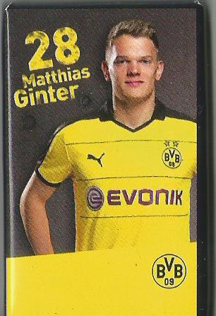 Matthias Ginter - Dortmund advent calendar