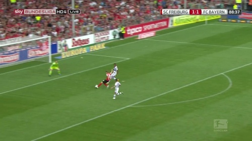 Nils Petersen – SC Freiburg v FC Bayern München 1