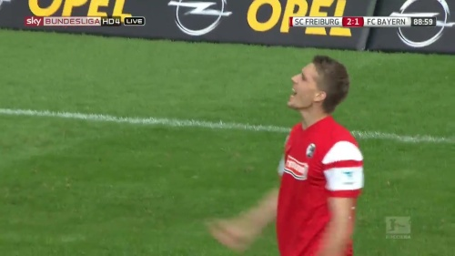 Nils Petersen – SC Freiburg v FC Bayern München 10