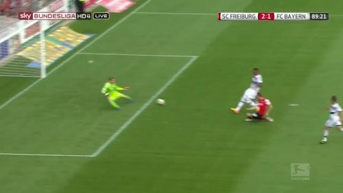 Nils Petersen – SC Freiburg v FC Bayern München 14