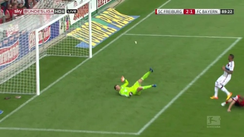 Nils Petersen – SC Freiburg v FC Bayern München 15