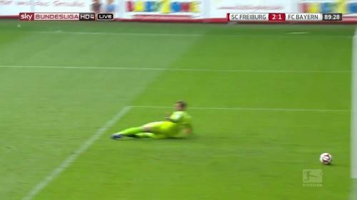 Nils Petersen – SC Freiburg v FC Bayern München 17