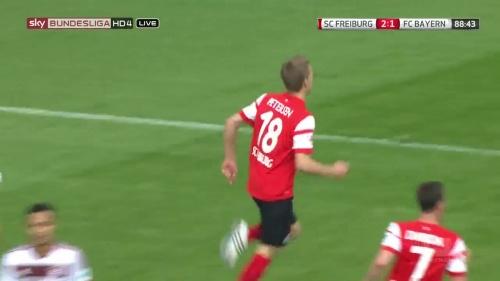 Nils Petersen – SC Freiburg v FC Bayern München 3
