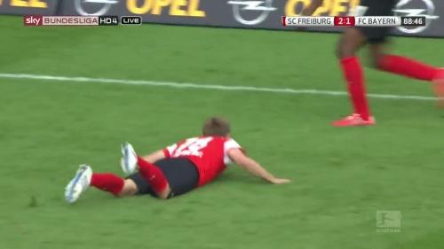 Nils Petersen – SC Freiburg v FC Bayern München 4