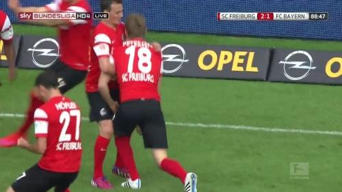 Nils Petersen – SC Freiburg v FC Bayern München 5