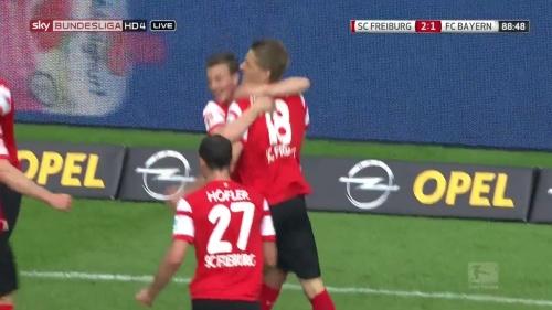 Nils Petersen – SC Freiburg v FC Bayern München 6