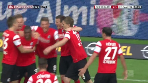 Nils Petersen – SC Freiburg v FC Bayern München 7