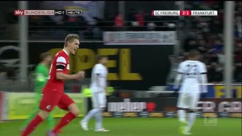 Nils Petersen - SC Freiburg v Eintracht Frankfurt 1
