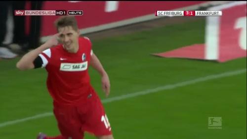 Nils Petersen - SC Freiburg v Eintracht Frankfurt 6