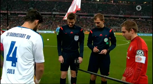 Philipp Lahm - Bayern v Darmstadt - DFB Pokal 2