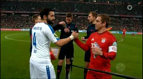 Philipp Lahm - Bayern v Darmstadt - DFB Pokal 3