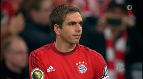 Philipp Lahm - Bayern v Darmstadt - DFB Pokal 5