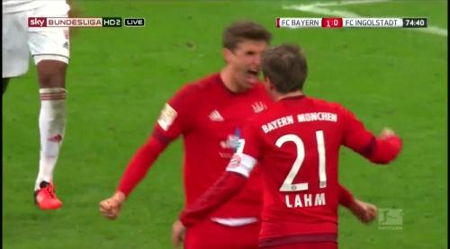 Philipp Lahm - Bayern v Ingolstadt 1