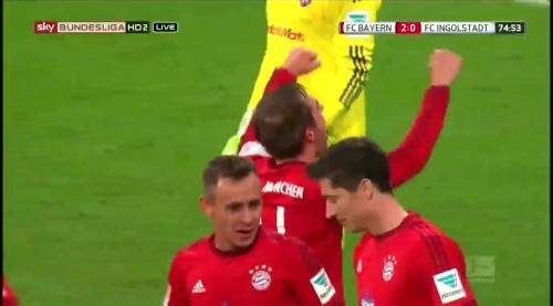 Philipp Lahm - Bayern v Ingolstadt 3