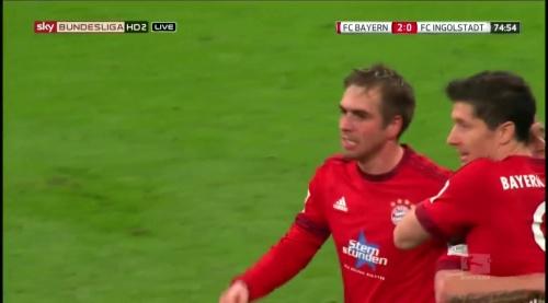 Philipp Lahm - Bayern v Ingolstadt 4