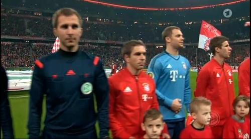 Philipp Lahm & Manuel Neuer - Bayern v Darmstadt - DFB Pokal 1
