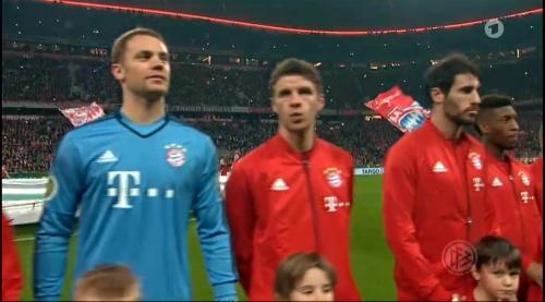 Philipp Lahm & Manuel Neuer - Bayern v Darmstadt - DFB Pokal 3