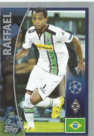 Rafael – Borussia Mönchengladbach – CL 2015-16 sticker