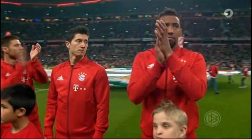 Robert Lewandowski - Bayern v Darmstadt - DFB Pokal 1