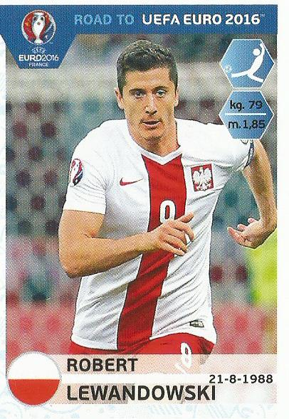 Robert Lewandowski - Poland - Road to Euro 2016