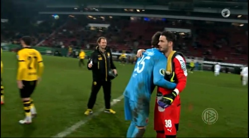 Roman Bürki - Augsburg v Dortmund - DFB Pokal 1