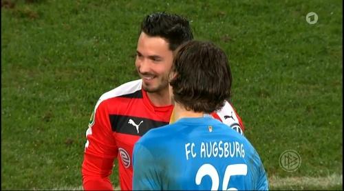 Roman Bürki - Augsburg v Dortmund - DFB Pokal 2