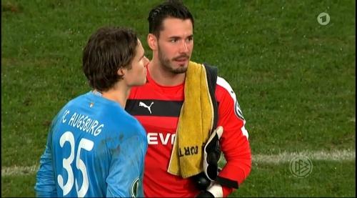 Roman Bürki - Augsburg v Dortmund - DFB Pokal 3