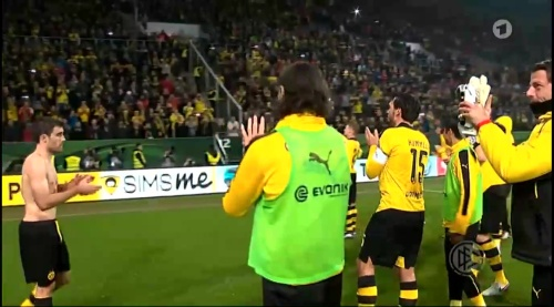 Sokratis- Augsburg v Dortmund - DFB Pokal 3