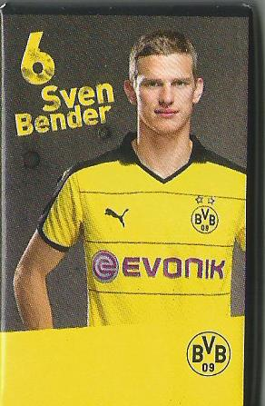 Sven Bender - Dortmund advent calendar