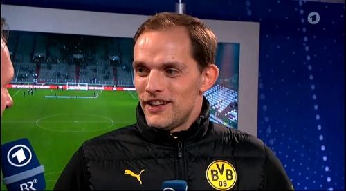 Thomas Tuchel - Augsburg v Dortmund - DFB Pokal 4