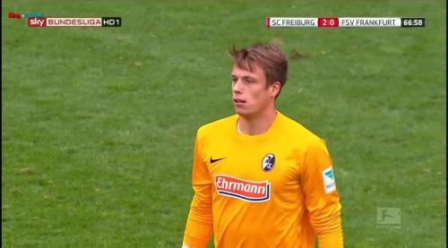 Alexander Schwolow – SC Freiburg v FSV Frankfurt 4