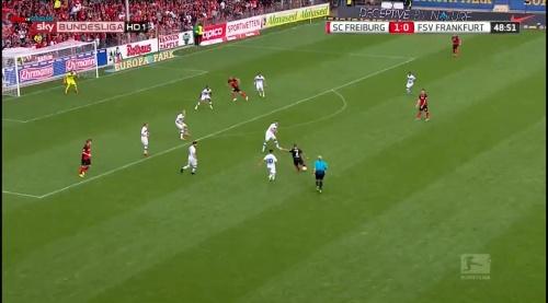 Amir Abrashi - SC Freiburg v FSV Frankfurt 1