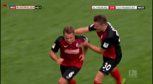 Amir Abrashi - SC Freiburg v FSV Frankfurt 2