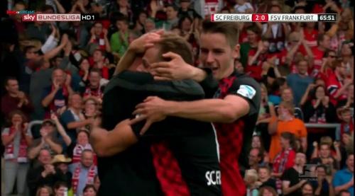 Amir Abrashi - SC Freiburg v FSV Frankfurt 4
