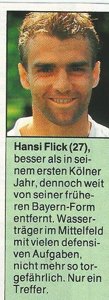 Hansi Flick – 1.FC Köln clipping 1