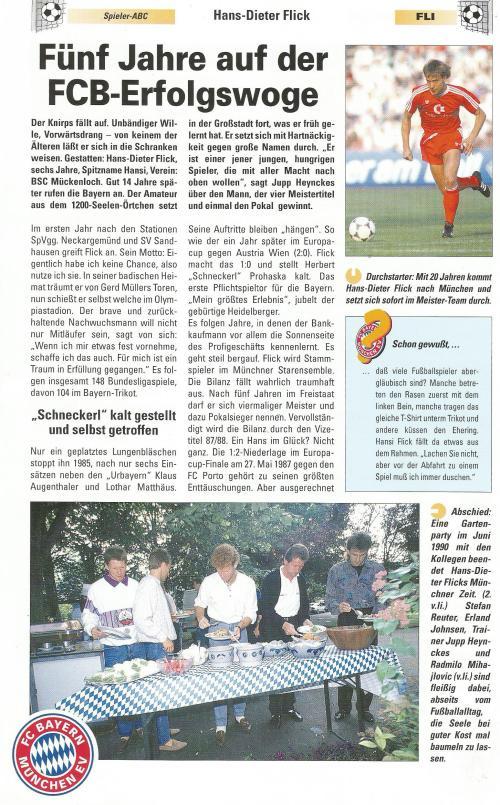 Hansi Flick – Bayern clipping 2