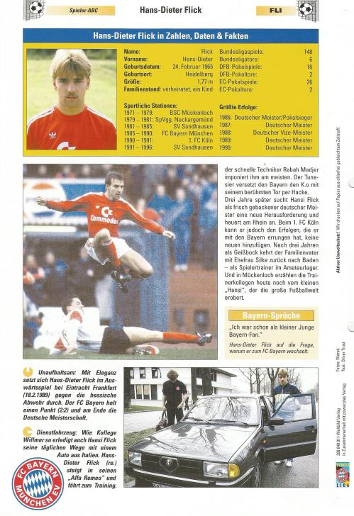 Hansi Flick – Bayern clipping 3