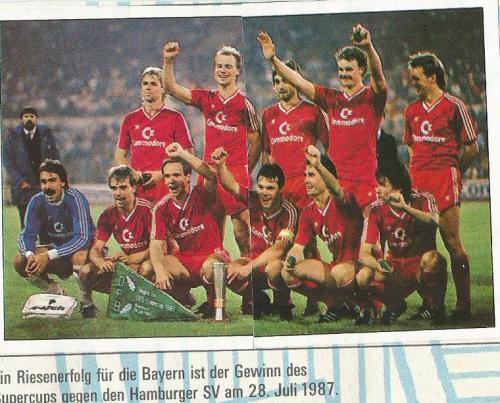 Hansi Flick – Bayern sticker 1