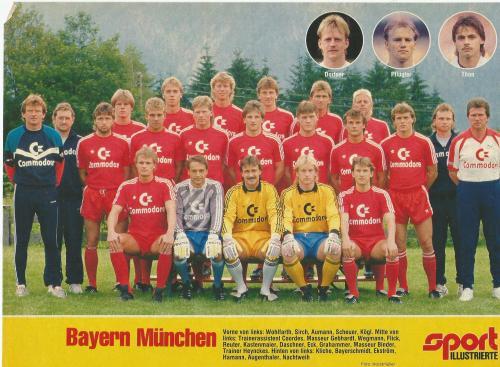 Hansi Flick – Bayern team poster 2