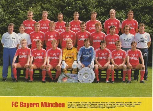 Hansi Flick – Bayern team poster 3