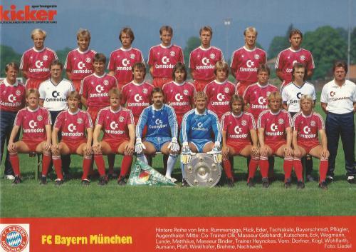 Hansi Flick – Bayern team poster 4