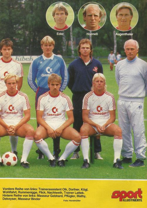 Hansi Flick – Bayern team poster 5