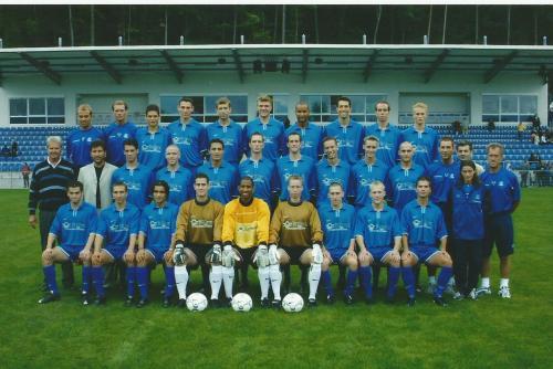 Hansi Flick – Hoffenheim team photo